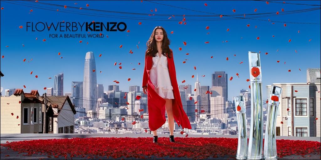 Kenzo Flower Banner 2018