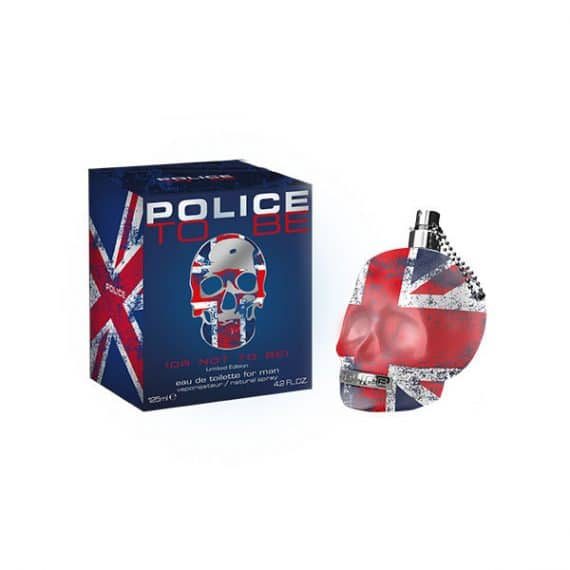 Police To Be Man Union Jack