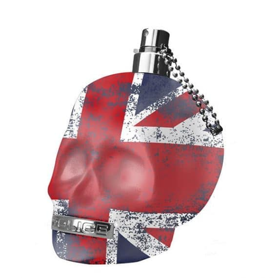 Police To Be Man Union Jack Bottle