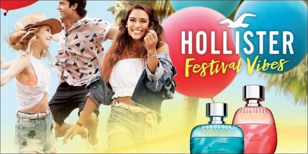 Hollister Festival Vibes Ad