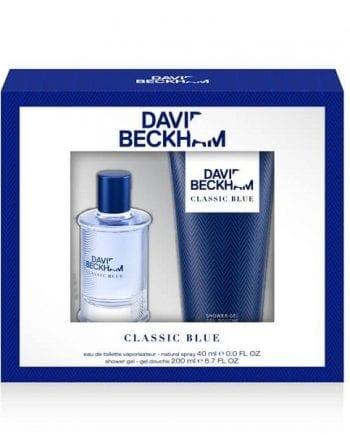 Beckham Classic Blue Gift Set