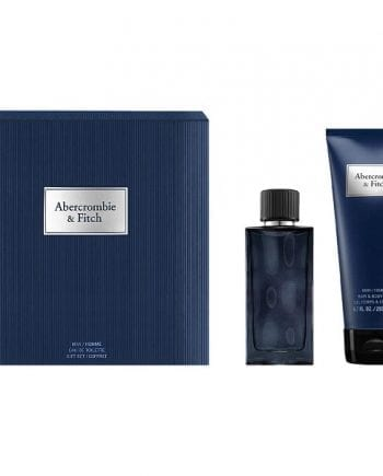 A&F First Instinct Blue Him Gift Set