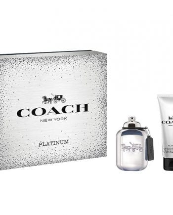 coach platinum men gift set