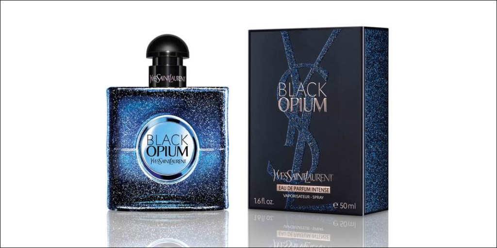 Black Opium Intense Bottle Box