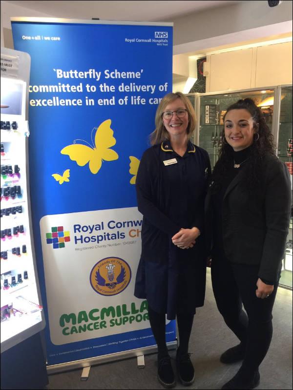 MacMillan Cancer Support Buterfly Scheme fundraiser