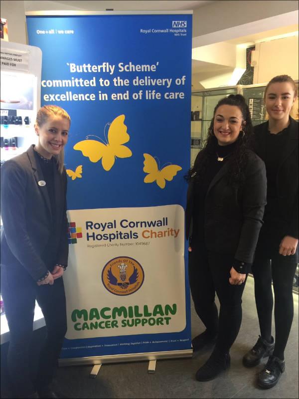 MacMillan Cancer Support Butterfly Scheme