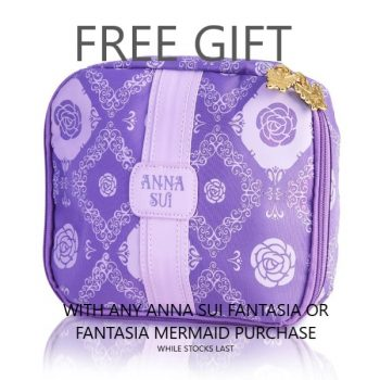 Anna Sui Purple Bag GWP Text
