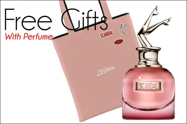 Perfume Free Gifts