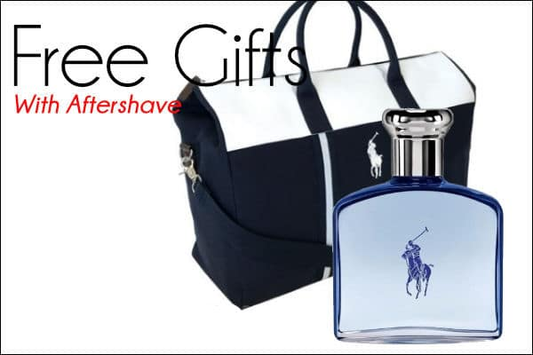 Aftershave Free Gifts