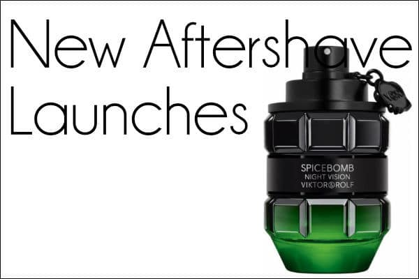 New Aftershave Launches