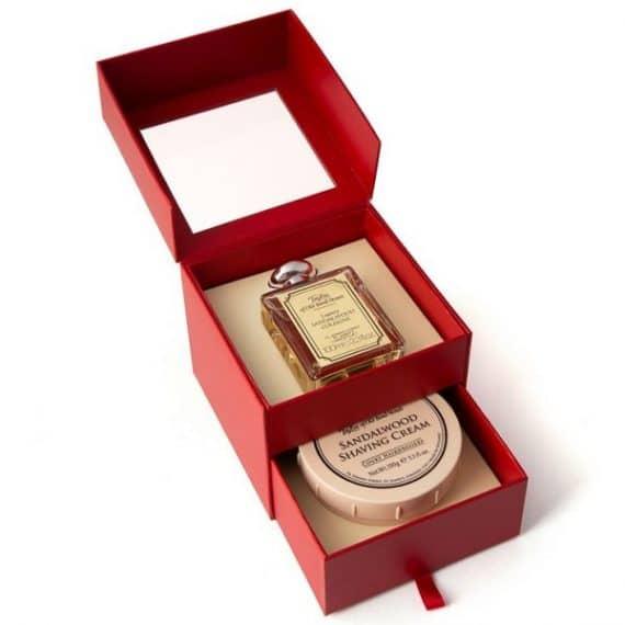 Sandalwood Aftershave Shaving Cream Set