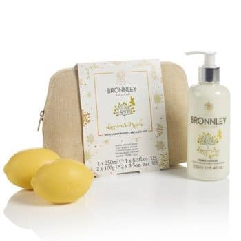 Bronnley Lemon & Neroli Hand Care Set