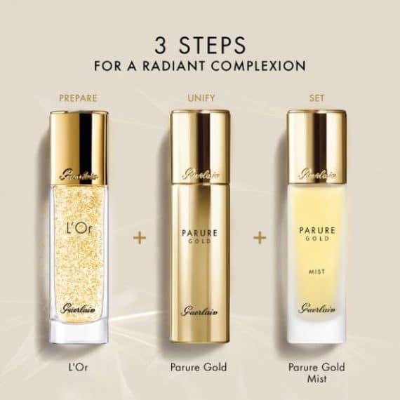 Parure Gold 3 Step
