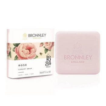 bronnley rose soap 100g