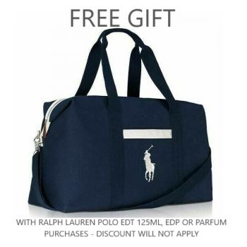 Ralph Lauren Blue Duffle Bag 2020