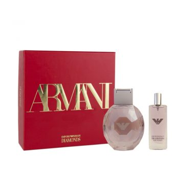 Armani Diamonds Violet 50ml Set (inc 15ml Miniature)