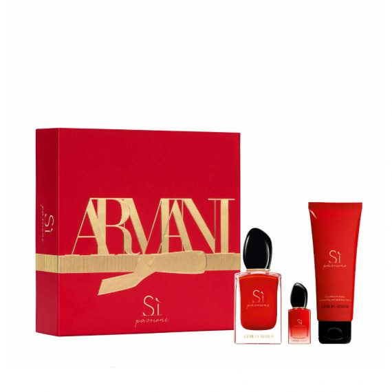 Armani Si Passione 50ml Set (inc 75ml Body Lotion & 7ml Mini)