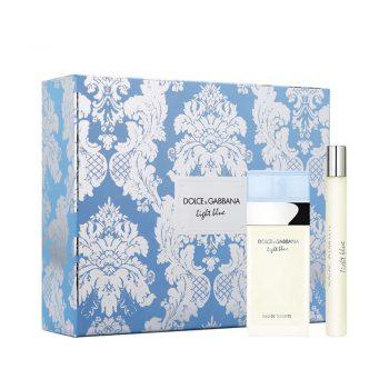 D&G Light Blue EDT 25ml Gift Set (inc. Travel Size) 1