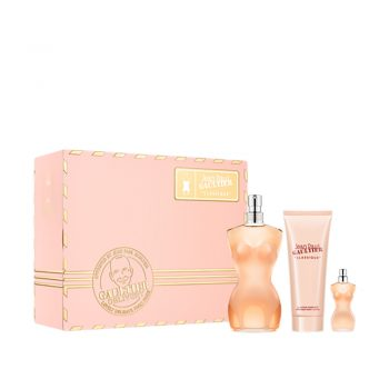 Jean Paul Gaultier Classique EDT 50ml Gift Set (plus 75ml Body Lotion & 6ml Miniature) 2