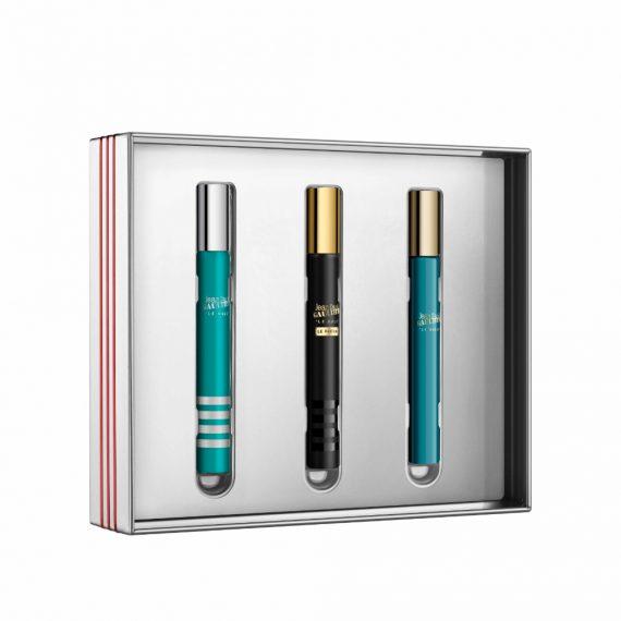 Jean Paul Gaultier Men's Mini Set (inc. 1x10ml Le Male, 1x10ml Le Male Le Parfum & 1x10ml Le Beau) 3
