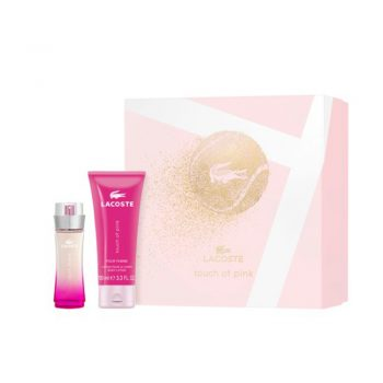 Lacoste Touch of Pink 50ml Gift Set (inc Body Lotion)