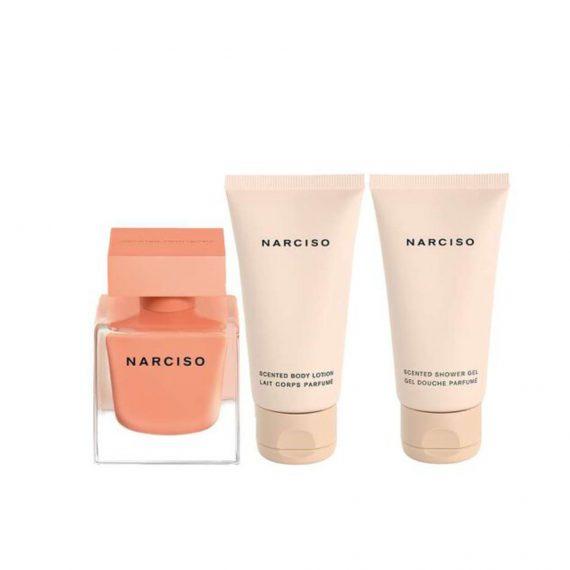 Narciso Ambree 50ml EDP Set (inc Shower Gel & Body Lotion) 1