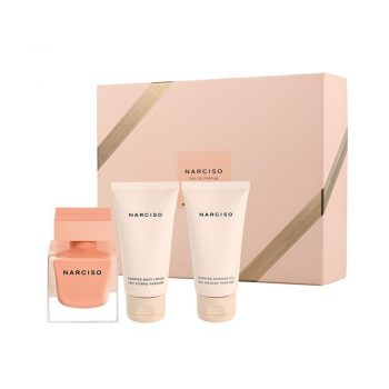 Narciso Ambree 50ml EDP Set (inc Shower Gel & Body Lotion) 3