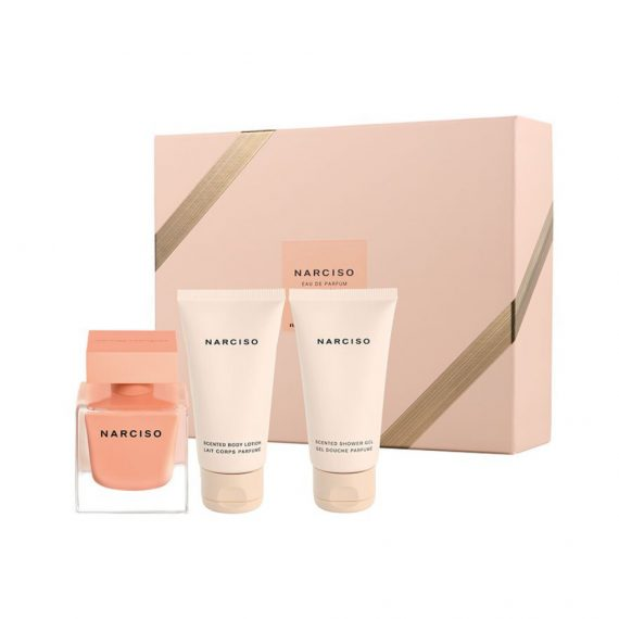 Narciso Ambree 50ml EDP Set (inc Shower Gel & Body Lotion) 3