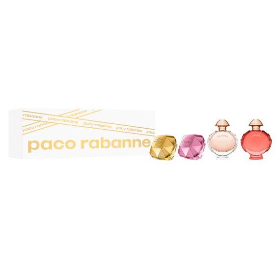 Paco Rabanne Mini Female EDP Set (2x5ml & 2x6ml) 2