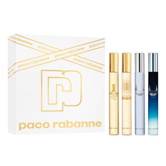 Paco Rabanne Travel Size EDT Set (4x10ml) 2