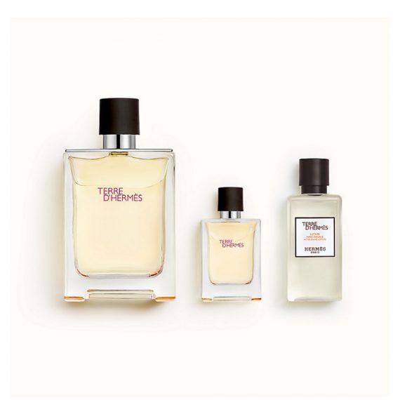 Terre d'Hermes 100ml Set (inc Miniature & Aftershave Lotion) 3