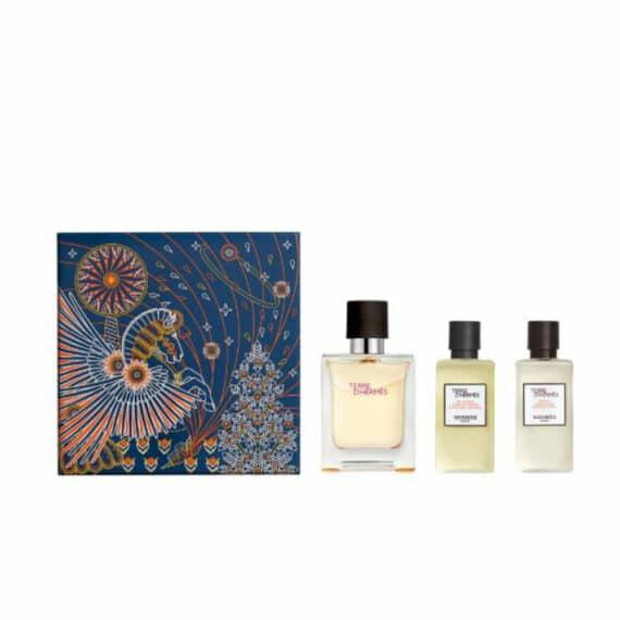 Terre d'Hermes 50ml Set (inc Shower Gel & Aftershave Lotion) 1