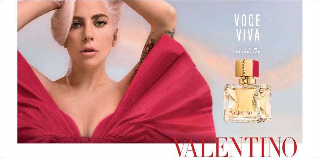 Valentino Voce Viva with Lady Gaga
