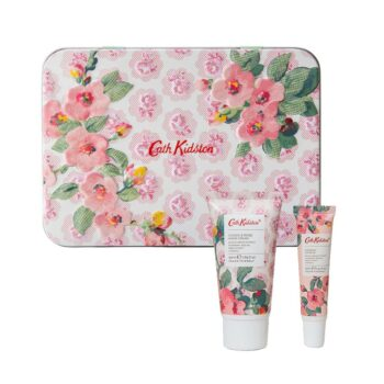 Cath Kidston Cassis Rose Hand Lip Tin