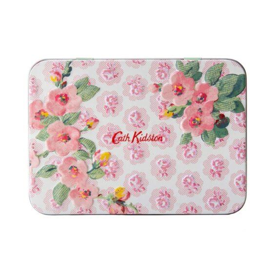 Cath Kidston Cassis Rose Hand Lip Tin2
