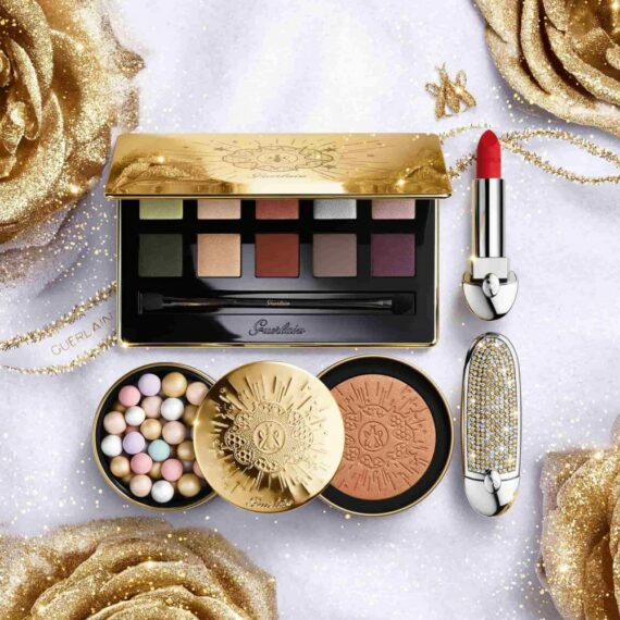 Guerlain Golden Bee Xmas 20 Ad