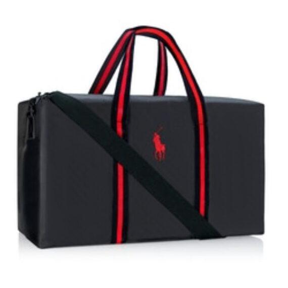 Ralph Lauren Red Duffle Bag
