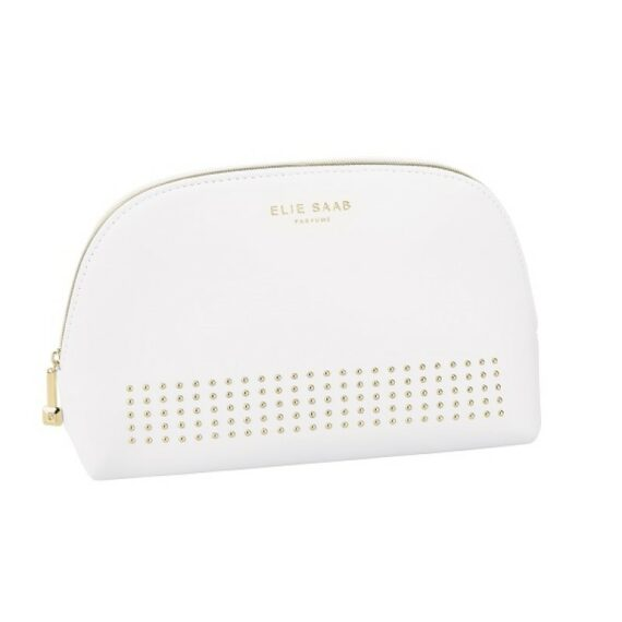 In White GWP Pouch Elie Saab
