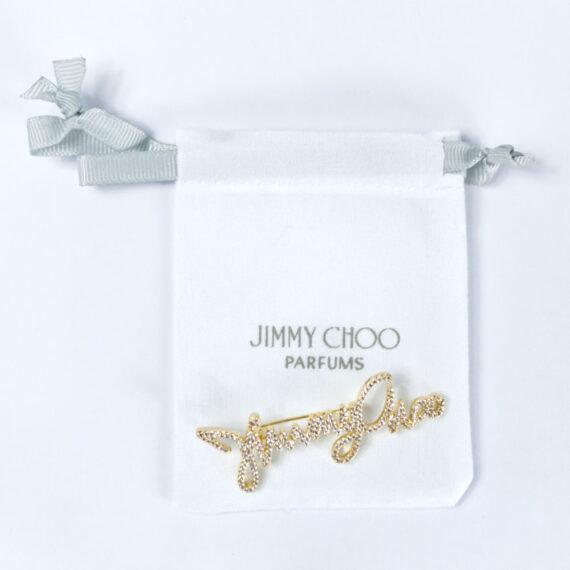 Jimmy Choo Gold Brooch