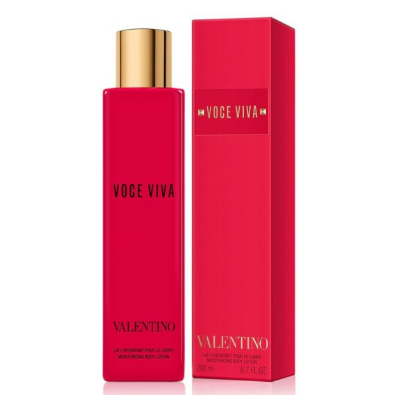 Valentino Voce Viva Body Lotion Box