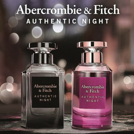 A+F Authentic Night Man + Woman Ad