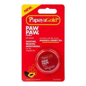 Papaya Gold Paw Paw Lip Balm Pot
