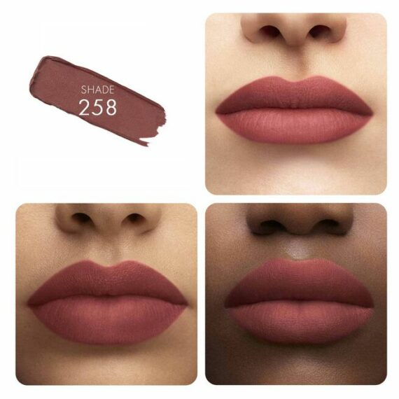 Guerlain KissKiss Tender Matte Lipstick 258 Lovely Nude