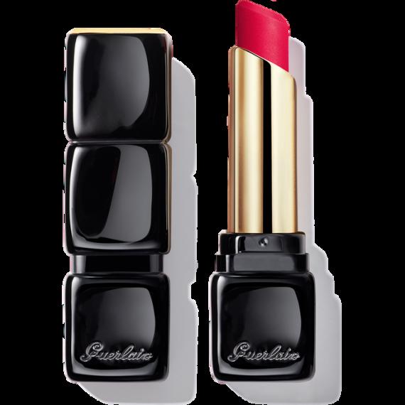 Guerlain KissKiss Tender Matte Lipstick 666 Lucky Pink