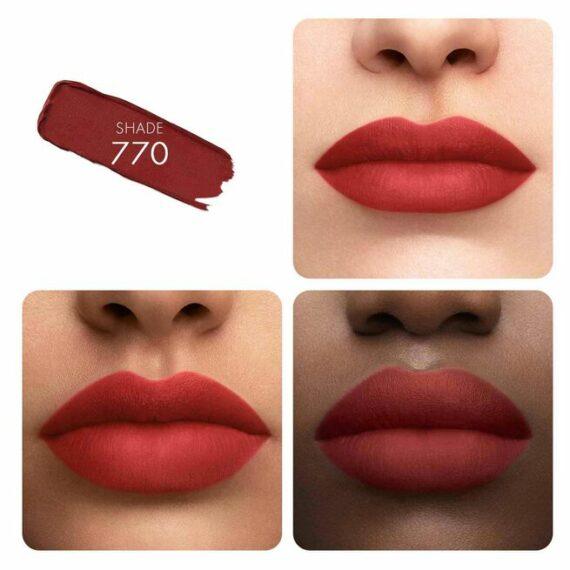 Guerlain KissKiss Tender Matte Lipstick 770 Desire Red