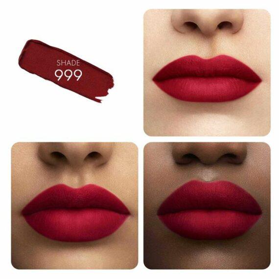 Guerlain KissKiss Tender Matte Lipstick 999 Eternal Red