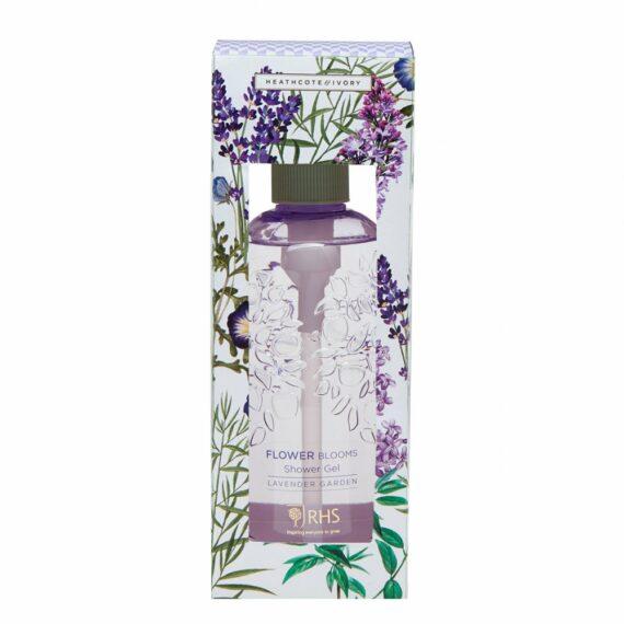 RHS Flower Blooms Lavender Garden Shower Gel