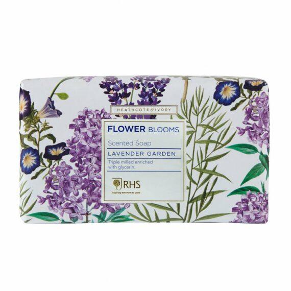 RHS Flower Blooms Lavender Garden Scented Soap