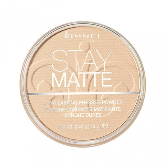 Stay Matte Pressed Powder Transparent