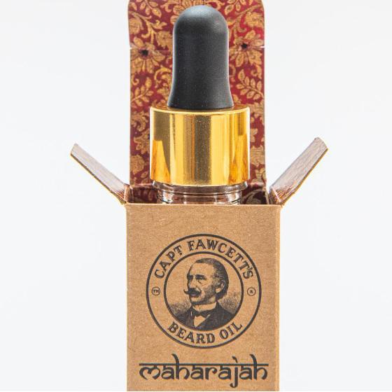 Captain Fawcett Maharajah Beard Oil 2